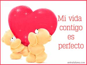 Mi vida  contigo es perfecto Willians