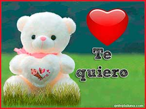 Te quiero peluche Williams